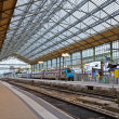 Stock Photo: Railway station, Tours, France