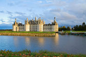Chambord chateau at sunset, France — Stock Photo