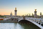 Bridge of Alexandre III, Paris — Stock Photo