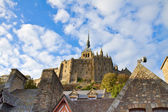 Abbey of Mont Saint Michel, France — 图库照片