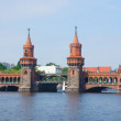 Stock Photo: Oberbaumbridge, Berlin, Germany
