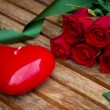 Royalty-Free Stock Photo: Valentines day with roses