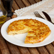 Tortilla  - spanish omelette — Stock Photo
