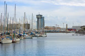 Port Vell, Barcelona, Spain — Stock Photo