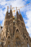 Sagrada familia, Barcellona, Spagna — Foto Stock