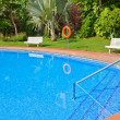 Swimming pool close up — Stock Photo