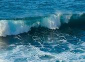Bouře přímořská krajina — Stock fotografie
