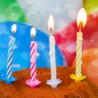 Birthday candles — Stock Photo #20857901