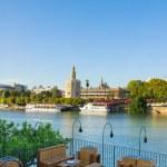 Cityscape of Seville, Spain — Stock Photo