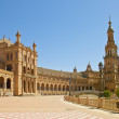 Plaza de Espana in  Sevilla, Spain - Foto Stock