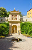 Garden of the Palace, Seville — Stock Photo