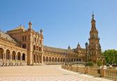 Plaza de Espana in Sevilla, Spain — Stock Photo