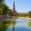 Plaza de España, Sevilla, Spain — Stock Photo