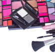 Stock Photo: Make up cosmetics set