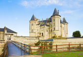 Saumur castle, France — Stock Photo