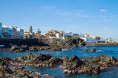 Puerto de la cruz na teneryfie — Zdjęcie stockowe