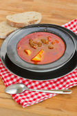 Goulash soup — Stock Photo
