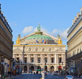 剧的巴黎,法国 — 图库照片