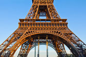 Detail of eiffel tower, Paris, France — Stock Photo