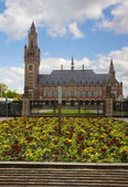 Peace Palace in The Hague, Netherlands — Stock Photo
