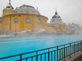Szechenyi spa bath, Budapest — Stock Photo