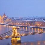 Постер, плакат: Cityscape of Budapest Hungary
