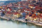 Old town of Porto close up, Portugal — Stock Photo