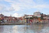 Para baixo da cidade do porto, portugal — Foto Stock