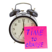 Time to change — Foto de Stock