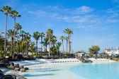 Public pools at Puerto Cruz, Tenerife, Spain — Stock Photo