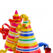 Decorations for birthday party — Stock Photo