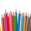 Set of multicolored pencils — Stock Photo