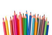 Set of multicolored pencils — Stock Photo