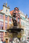 The Neptune, Gdansk — Stock Photo