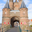 Royalty-Free Stock Photo: The Amsterdamse Poort, Haarlem, Holland