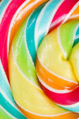 Spiral candy close up — Stock Photo