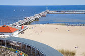 Pier (Molo) of Sopot — Stock Photo