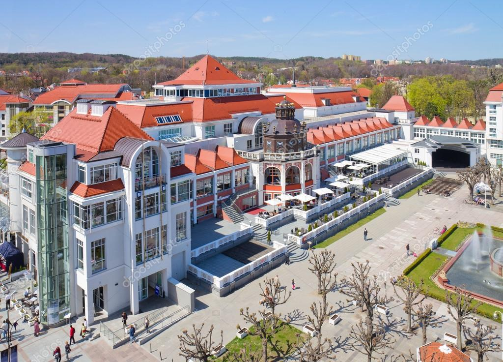 Old spa house in sopot poland stock photo neirfys for Top design hotels poland