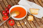 Gazpacho met tomaten — Stockfoto