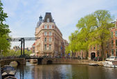 Old town of Amsterdam — Stockfoto