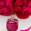 Stock Photo: Peonies fragrance
