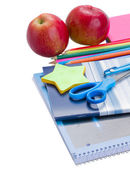 School workbooks — Stock Photo