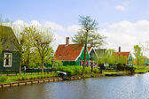Old town of Zaanse Schans, Netherlands — Stock Photo
