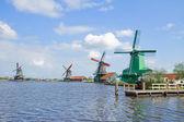 View of Zaanse Schans — Stock Photo