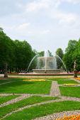 Saski park, Warsaw — Stock Photo