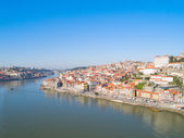 Old town of Porto from above, Portugal — Stock Photo
