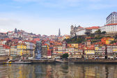 Gamla porto på douro bank, portugal — Stockfoto