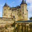 Stock Photo: Saumur castle at Loire valley