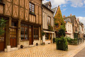 Timbered houses in Amboise, France — Stock Photo