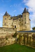 Saumur castle at Loire valley — Stock Photo